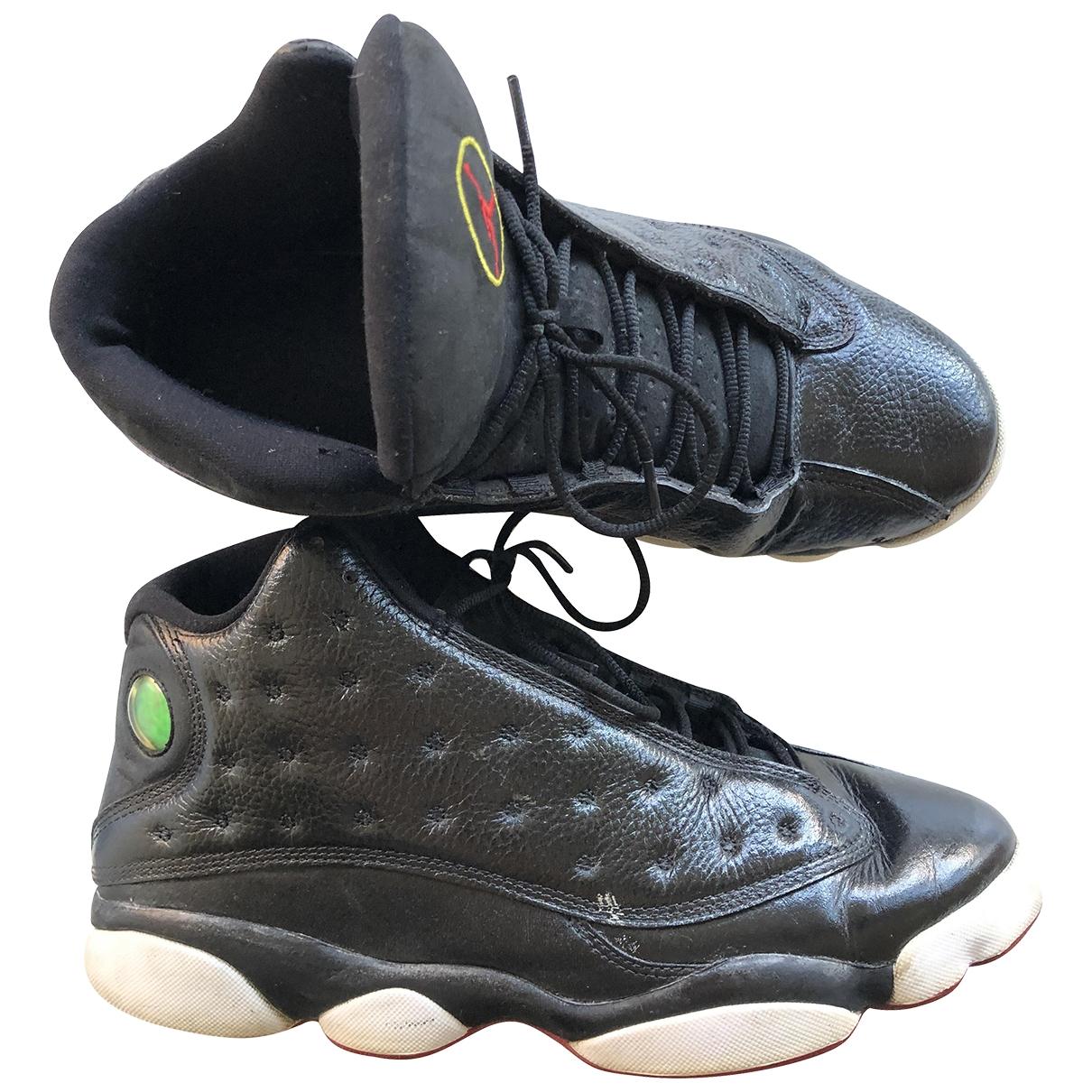 Deportivas Air Jordan 13 de Cuero Jordan