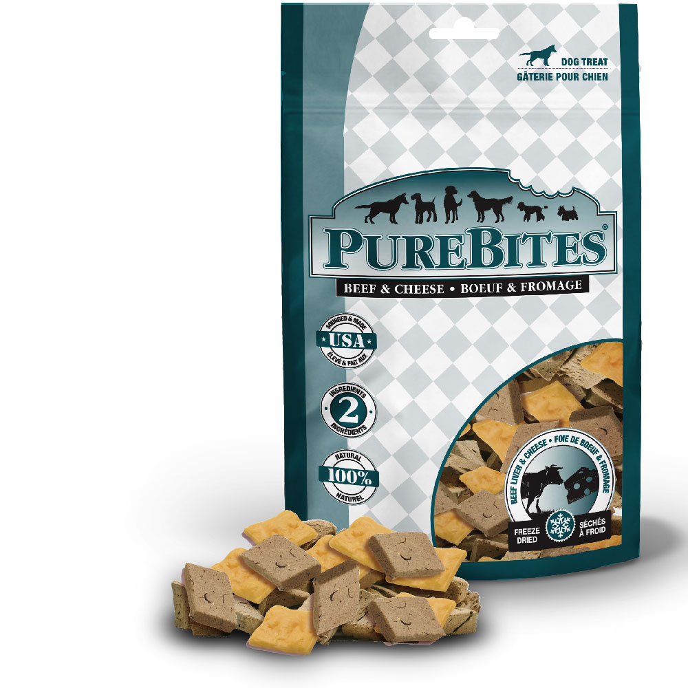 PureBites Beef & Cheese Dog Treat (8.8 oz)