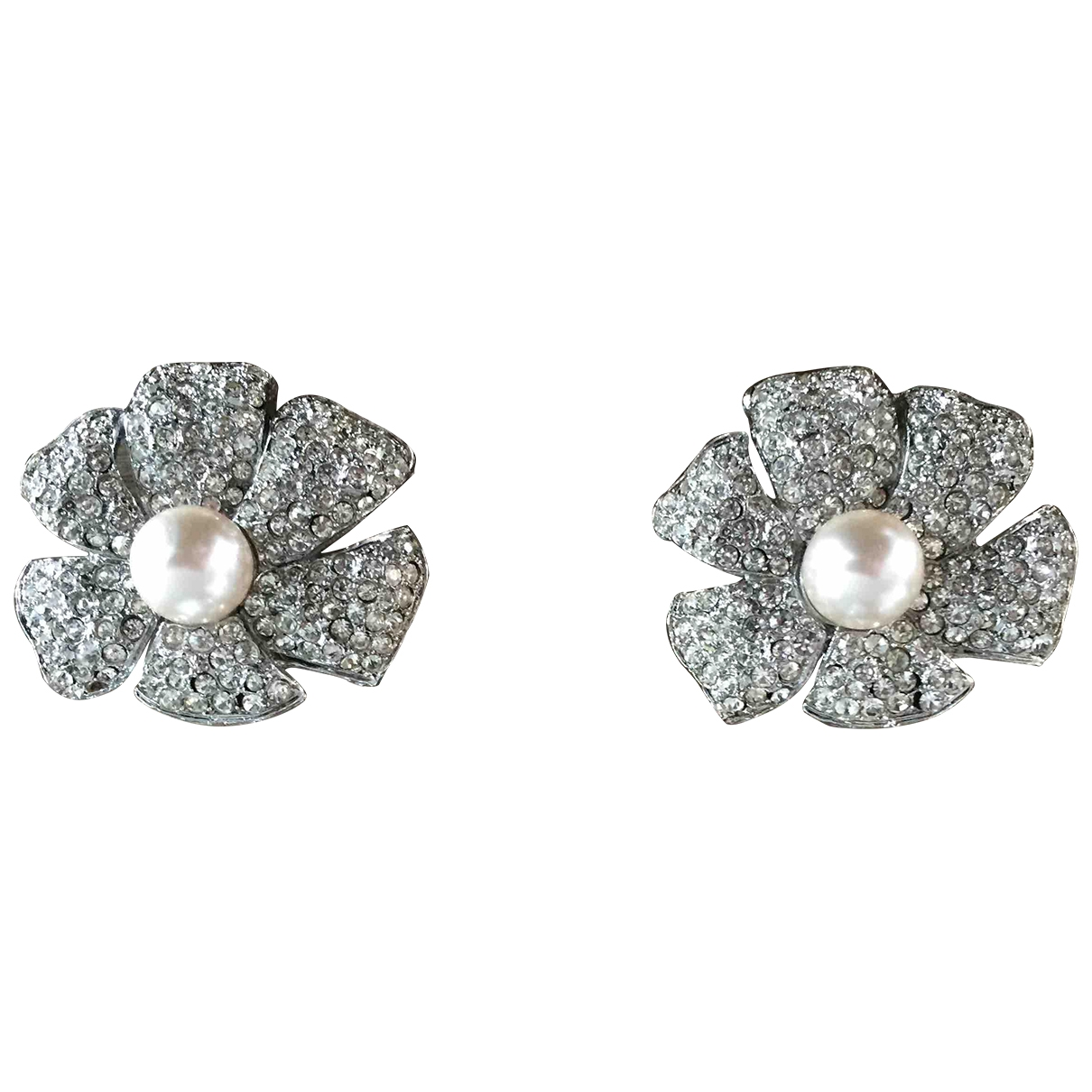 Kenneth Jay Lane \N Silver Silver Plated Earrings for Women \N