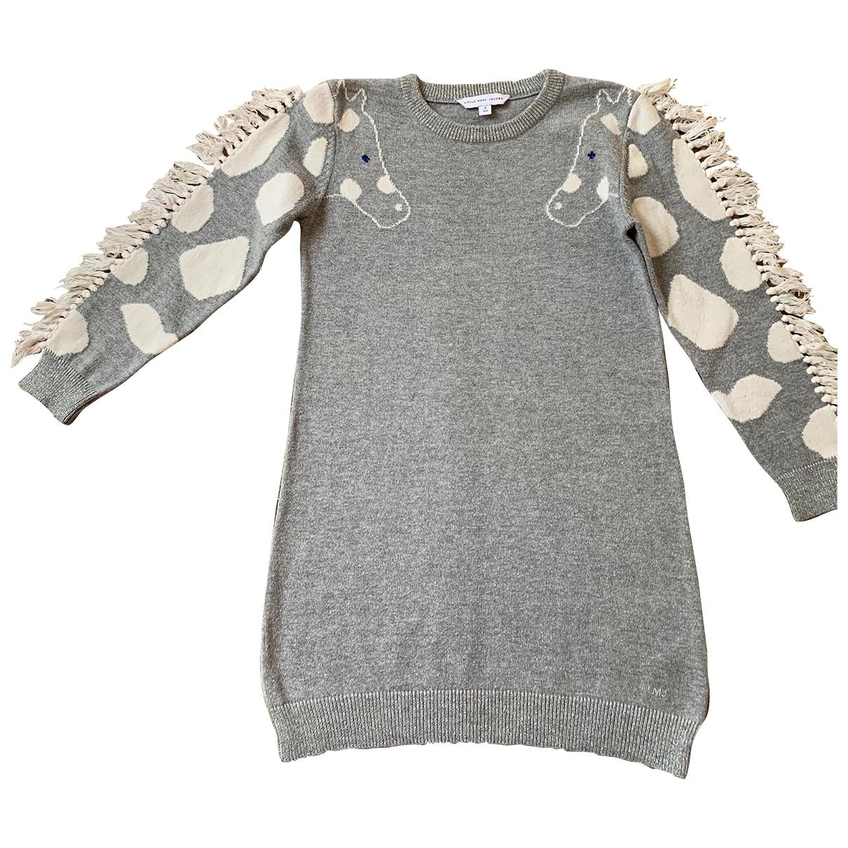 Little Marc Jacobs - Robe    pour enfant en laine - gris