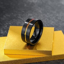 Guys Stainless Steel Ring