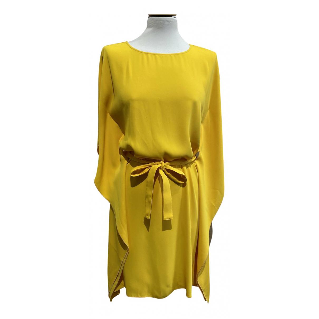 Mm6 \N Kleid in  Gelb Polyester