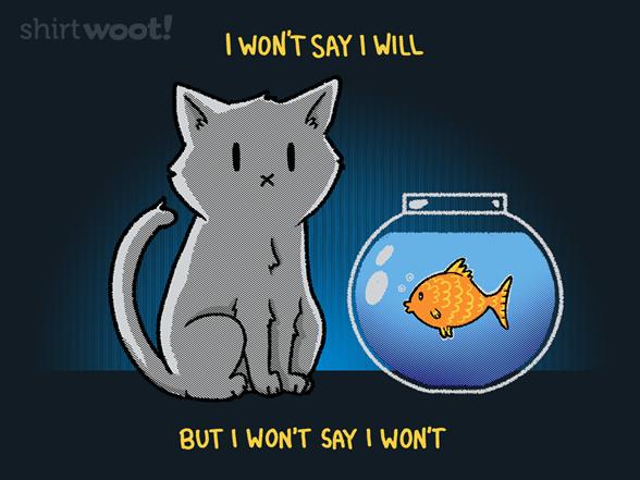 Meow I Trust. It's The Devil Inside I Don't. T Shirt