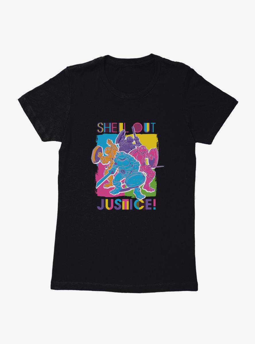 Teenage Mutant Ninja Turtles Shell Out Justice Womens T-Shirt
