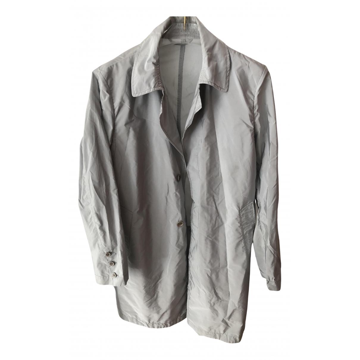 Ermanno Scervino N Grey coat for Women 48 IT