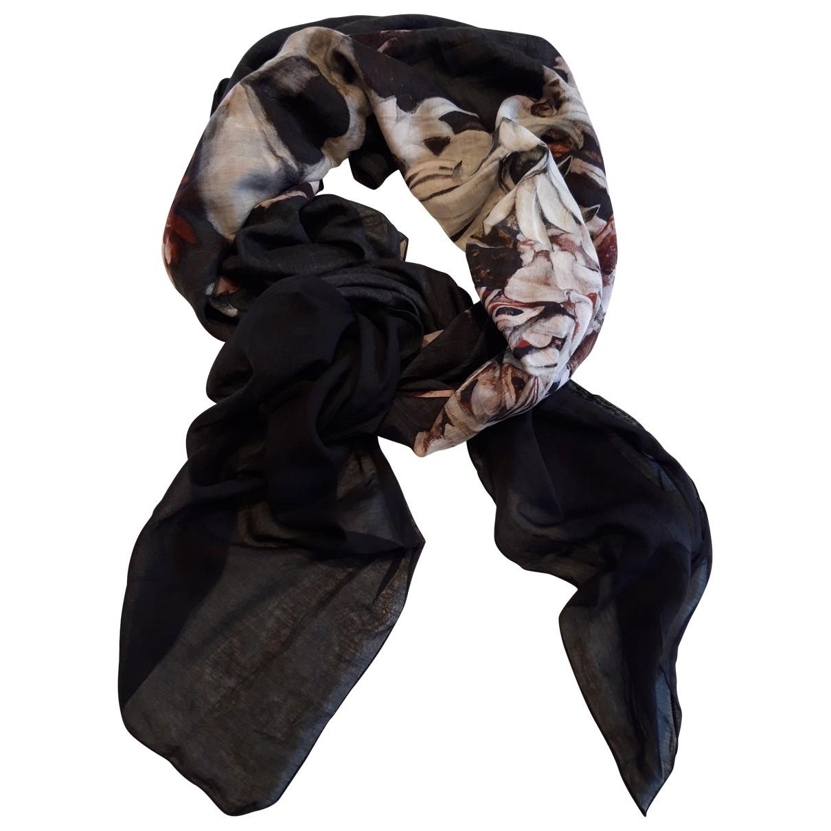 Dior Homme \N Black Cotton scarf & pocket squares for Men \N