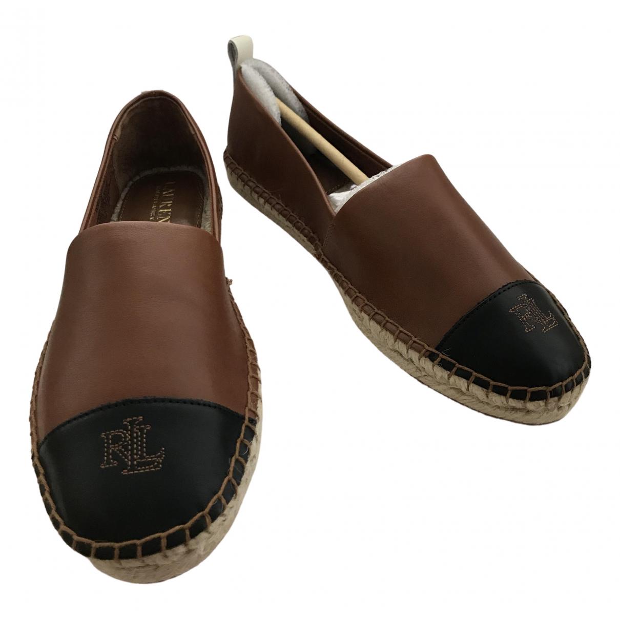 Polo Ralph Lauren \N Espadrilles in  Bunt Leder