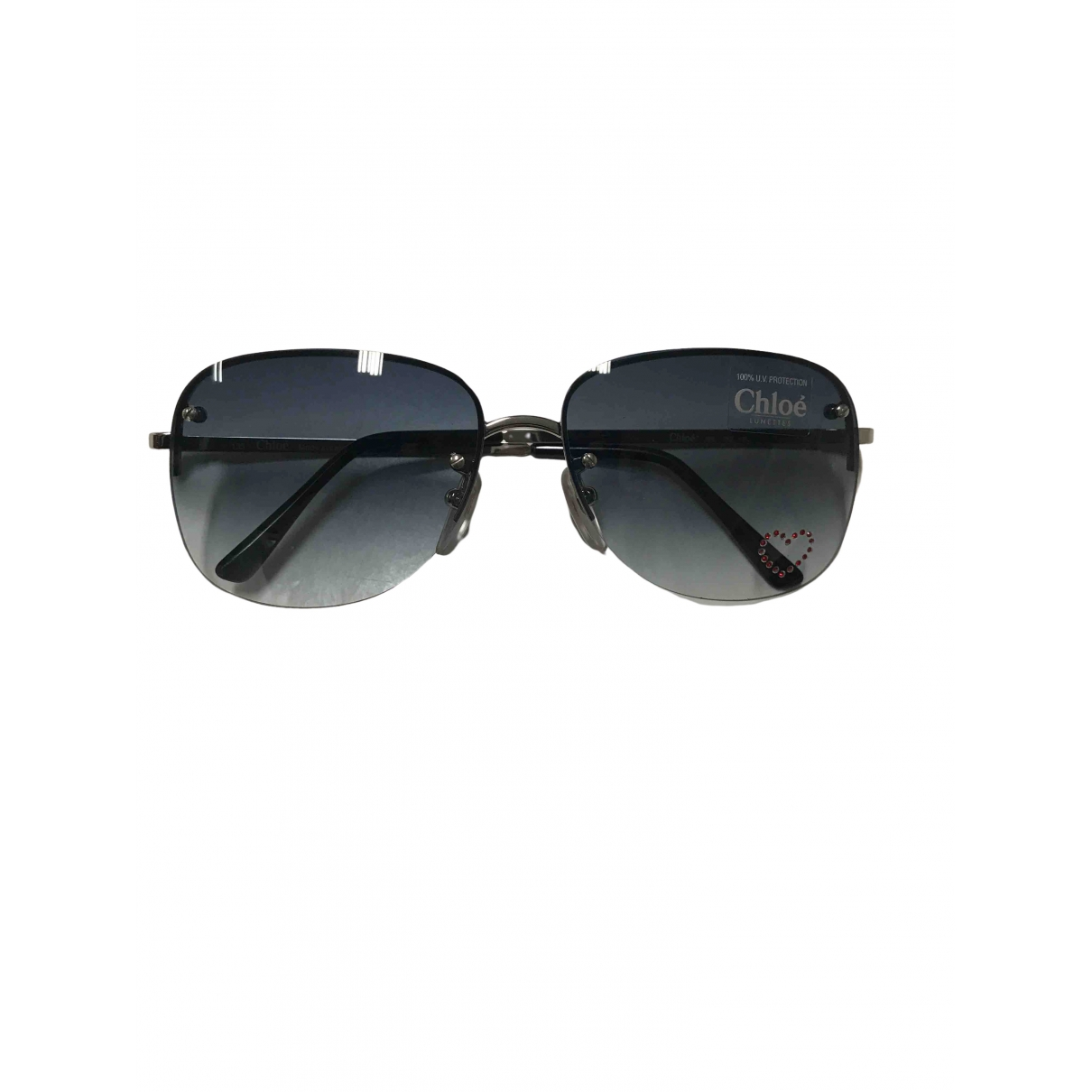 Chloé \N Blue Metal Sunglasses for Women \N