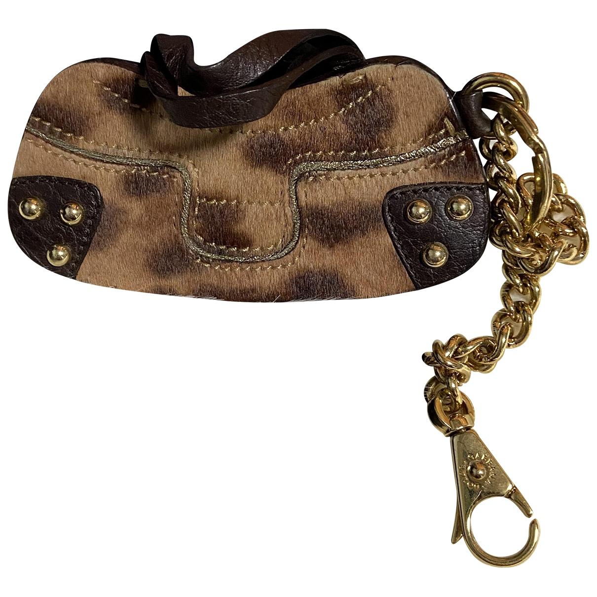 Dolce & Gabbana \N Taschenschmuck in  Braun Leder