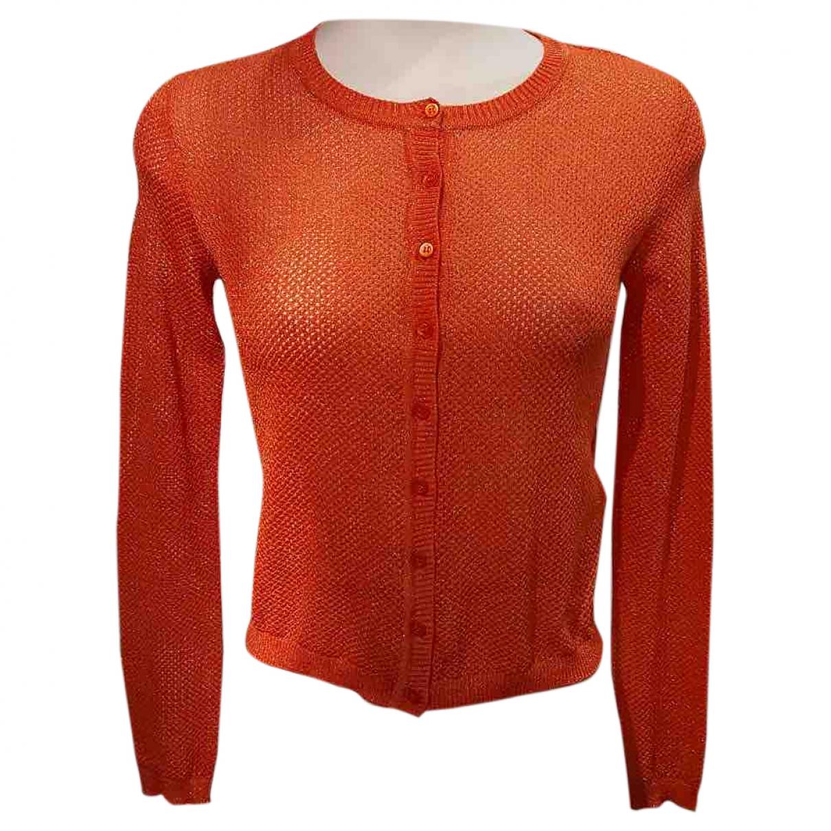Missoni - Pull   pour femme en coton - orange