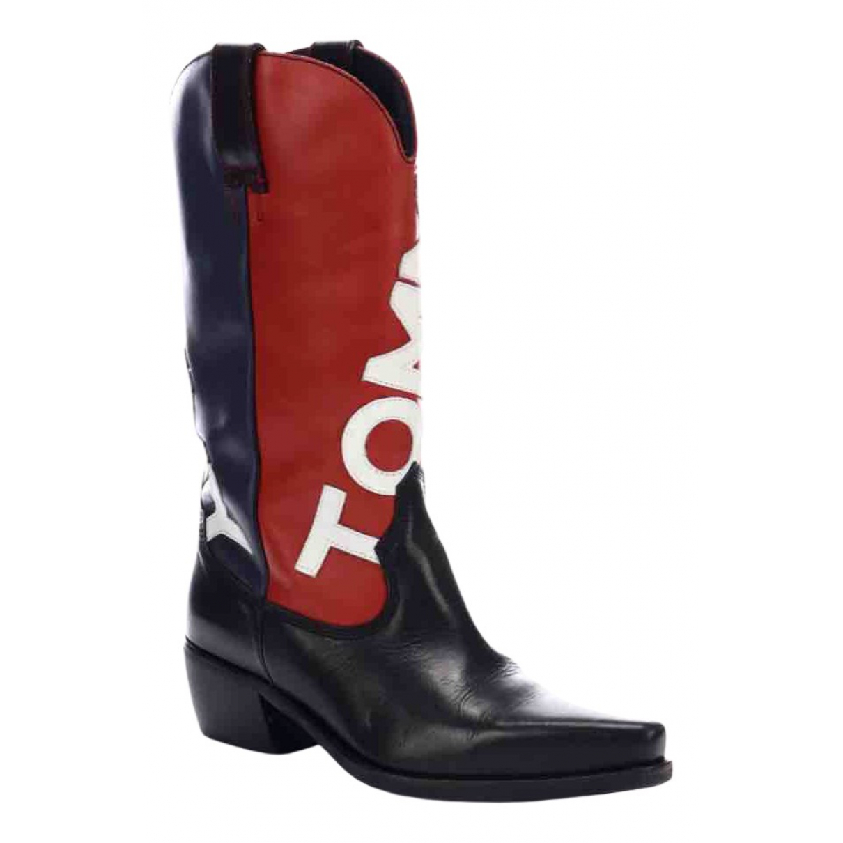 Tommy Hilfiger N Multicolour Leather Boots for Women 39 EU