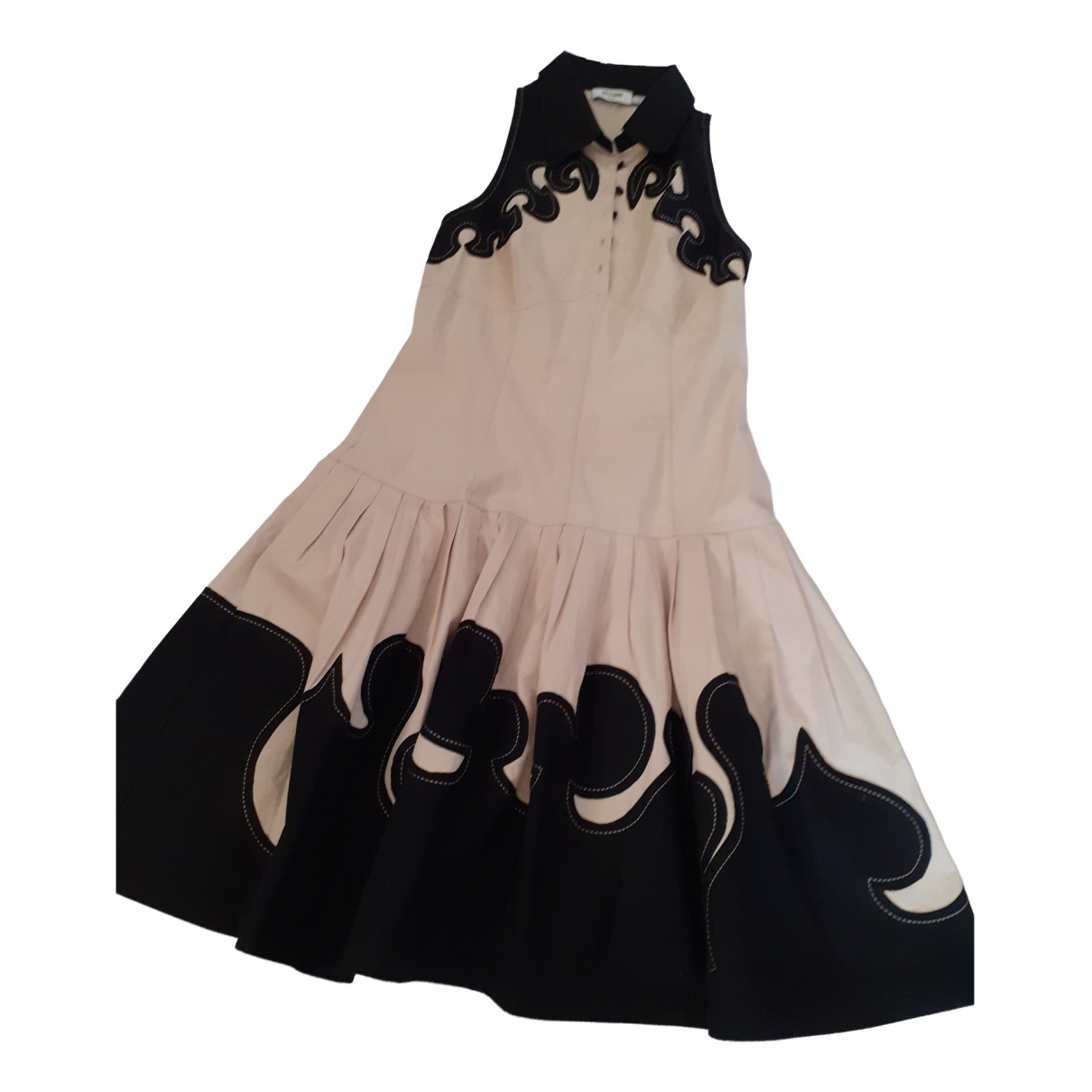 Moschino Jean - Robe   pour femme en coton - beige