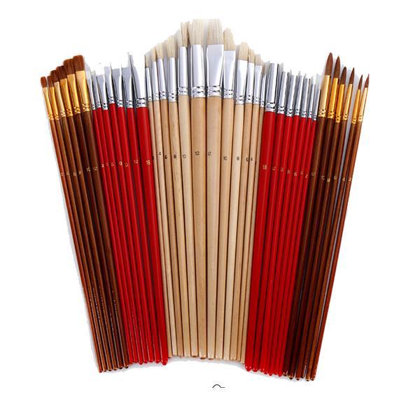 Zhuting 3801 Painting Brush Set Multi Function Practical Canvas Curtain Writing Brush Stationery School Students Art Sup