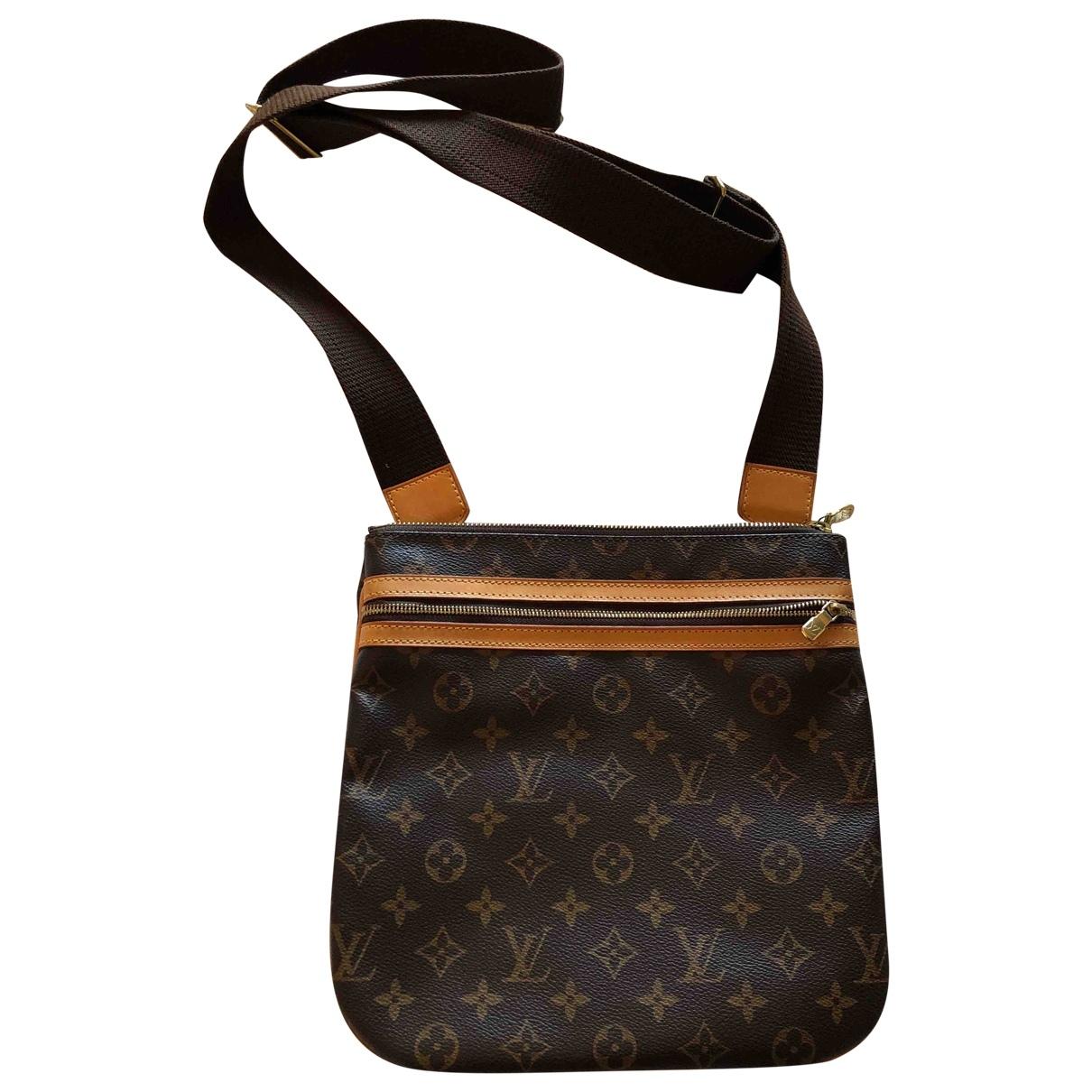 Louis Vuitton - Sac Bosphore pour homme en toile - marron
