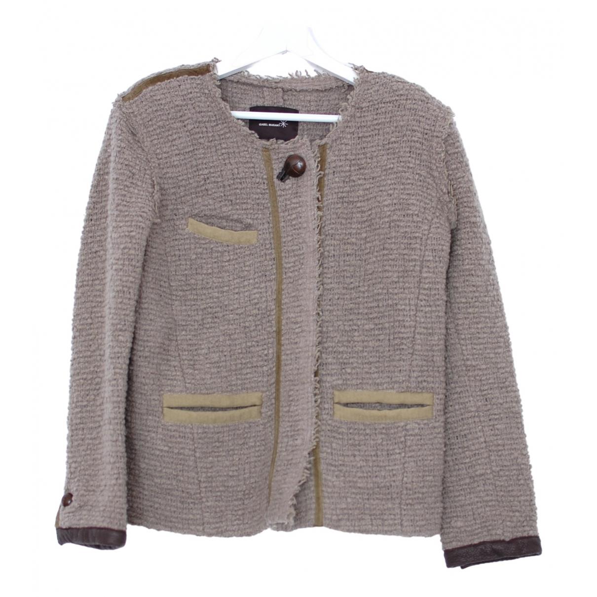 Isabel Marant - Veste   pour femme en laine - gris