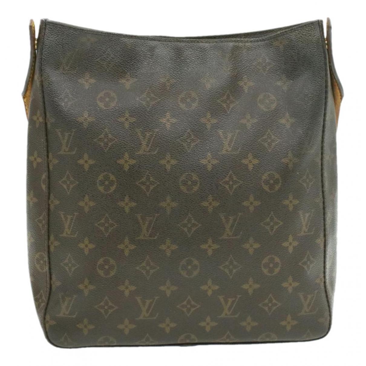 Louis Vuitton Looping Brown Cloth handbag for Women N