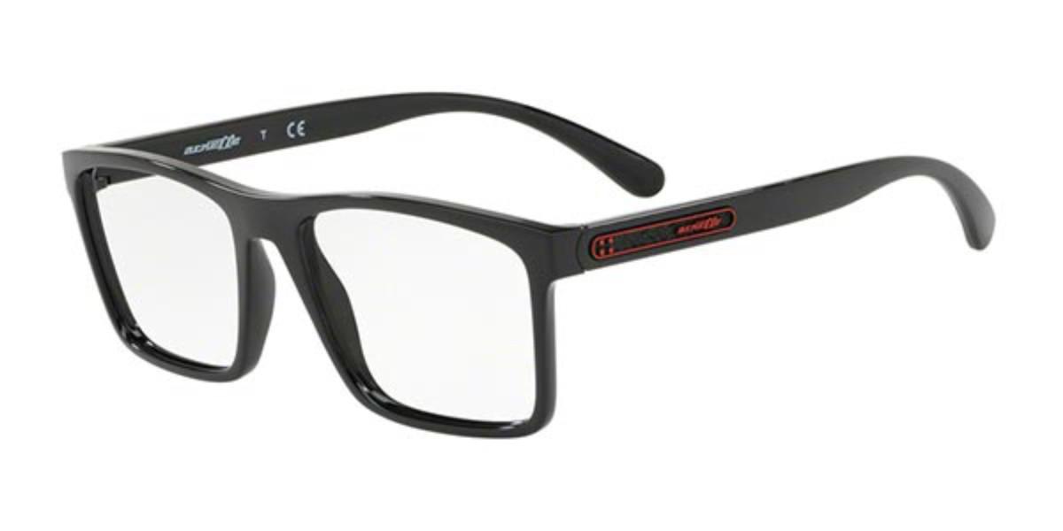Arnette AN7147 Mc Twist 41 Men's Glasses Black Size 54 - Free Lenses - HSA/FSA Insurance - Blue Light Block Available