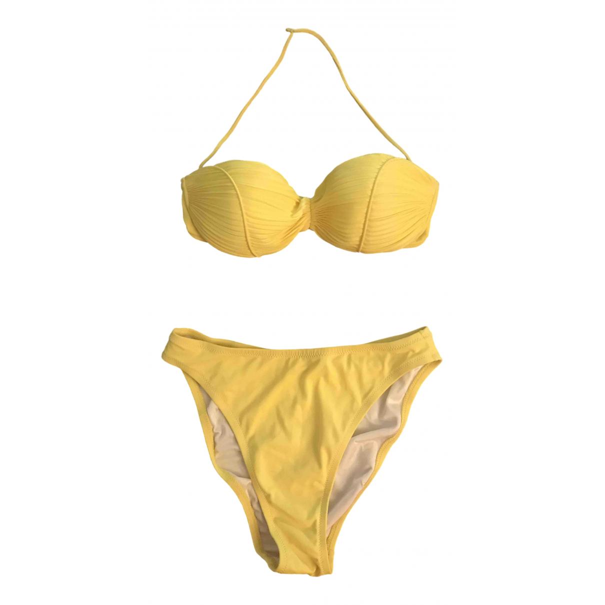 La Perla \N Yellow Lycra Swimwear for Women 42 IT