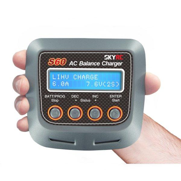 SKYRC S60 60W AC Balance Battery Charger Discharger