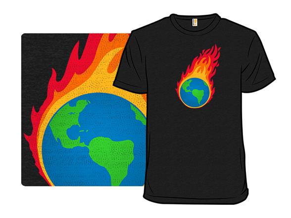 Burning Earthellapalooza T Shirt