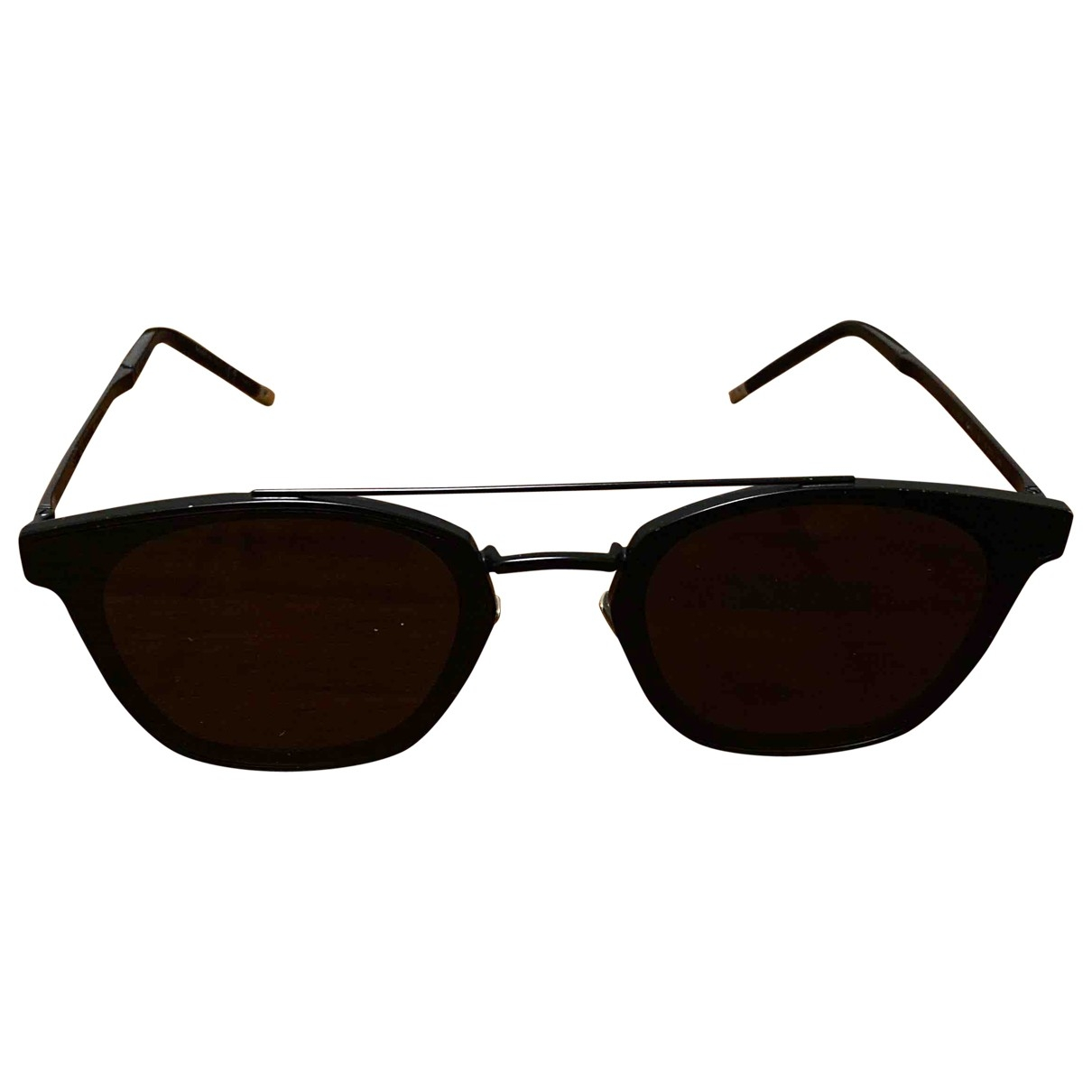 Saint Laurent \N Sonnenbrillen in  Schwarz Metall