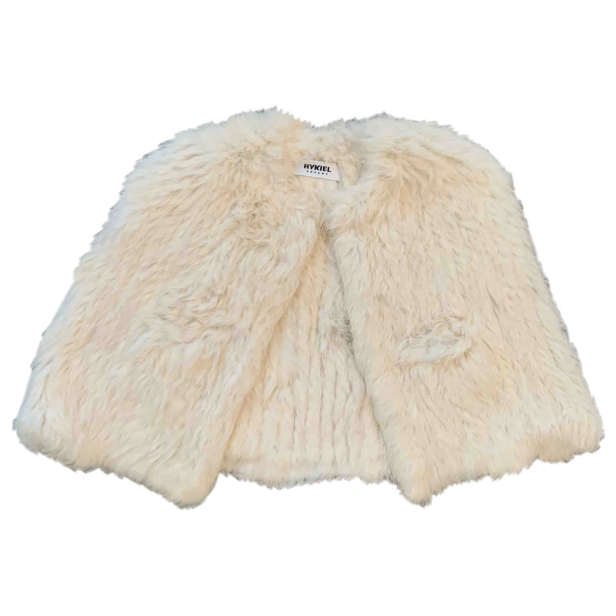 Sonia Rykiel - Blousons.Manteaux   pour enfant en lapin - blanc