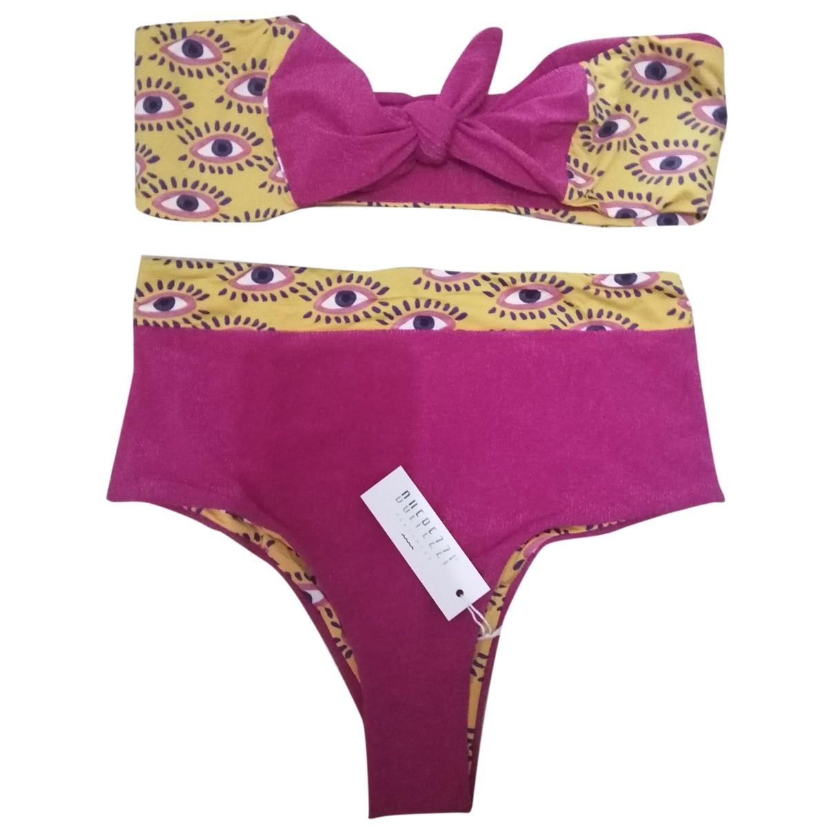 Non Signé / Unsigned \N Multicolour Lycra Swimwear for Women M International