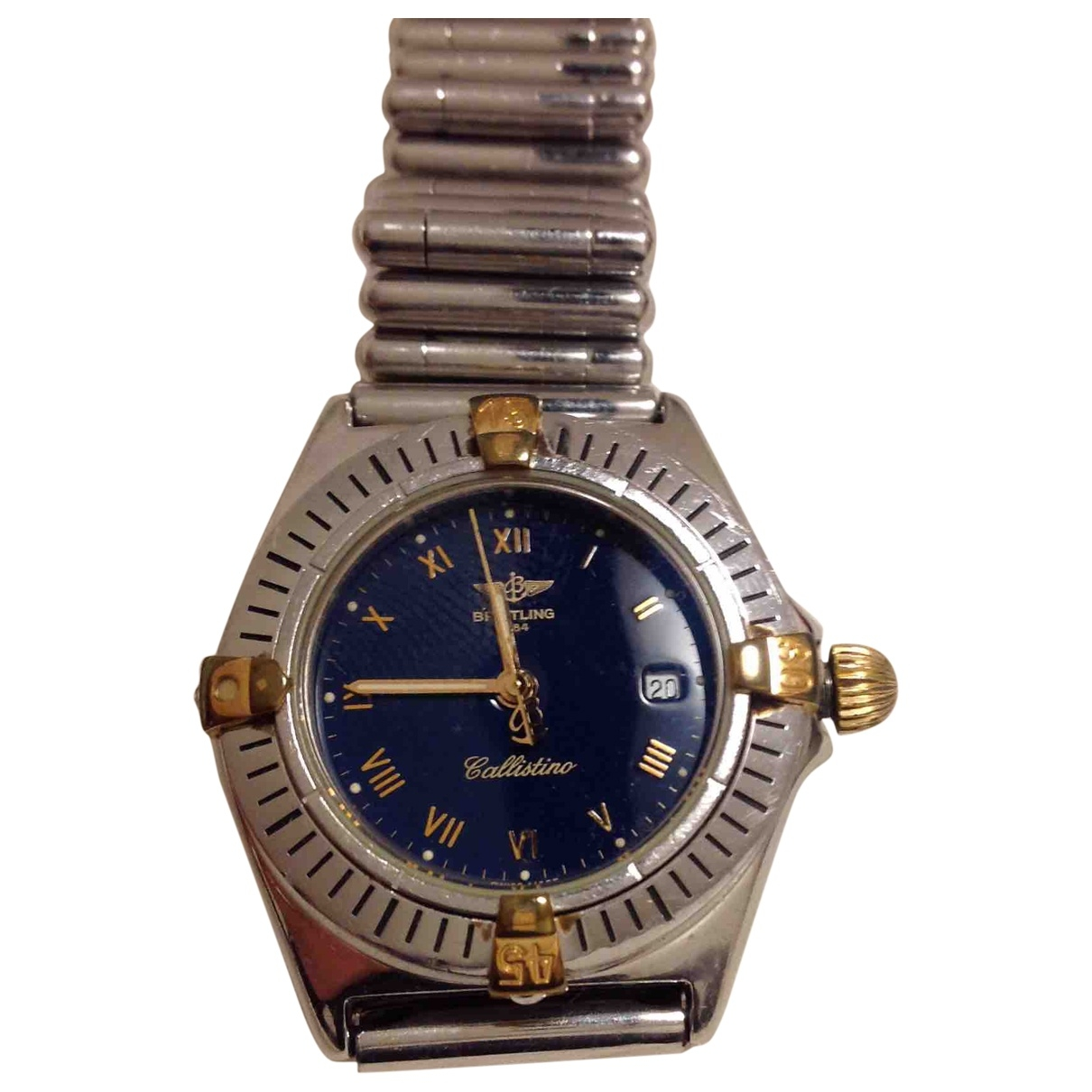 Breitling Colt  Silver gold and steel watch for Women \N