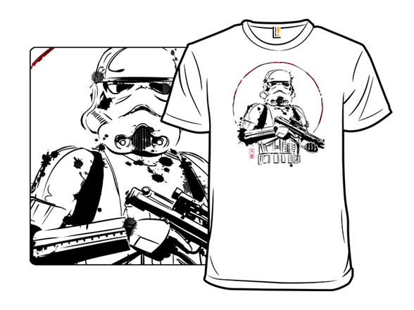 Ink Trooper T Shirt