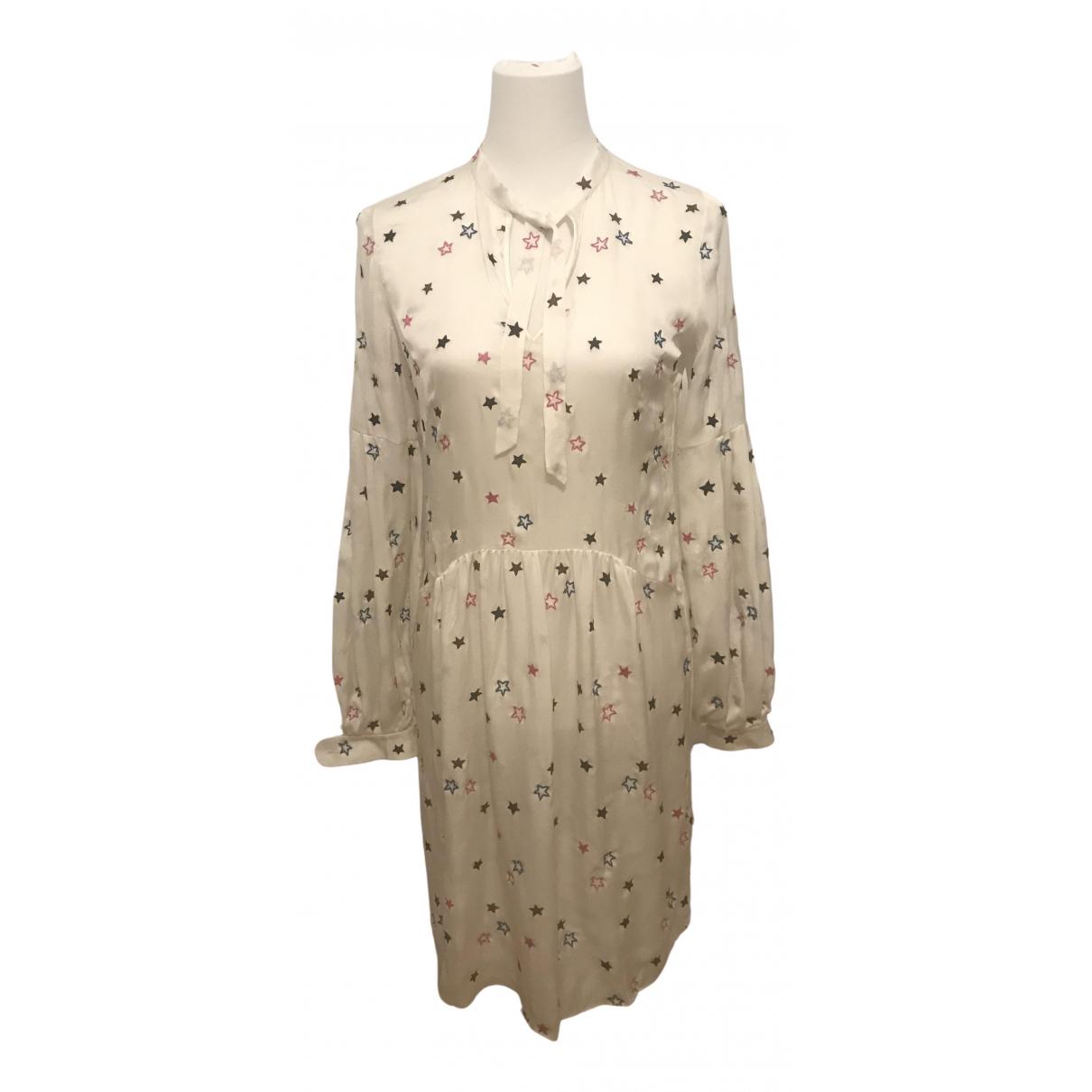 Matthew Williamson - Robe   pour femme en soie - blanc