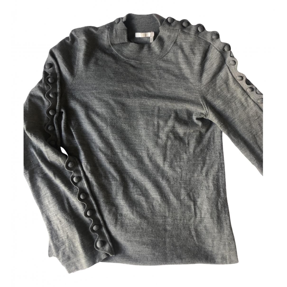 Chloé N Grey Wool Knitwear for Women S International