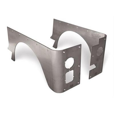 Poison Spyder Customs Stock Crusher Corners, No Hinge Cut-outs - 13-04-010-TG