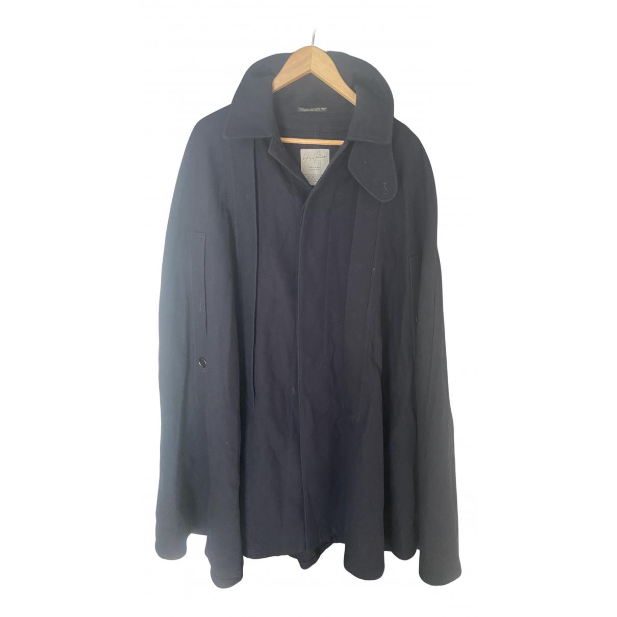 Yohji Yamamoto N Navy Wool coat for Women 1 0-5