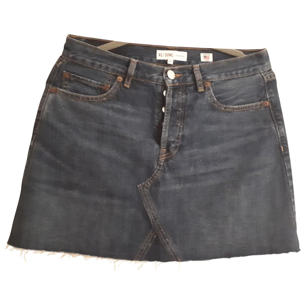 Re/done \N Rocke in  Blau Denim - Jeans