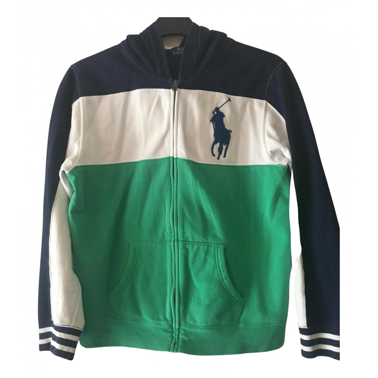 Polo Ralph Lauren - Pulls.Gilets.Sweats   pour homme en coton - multicolore