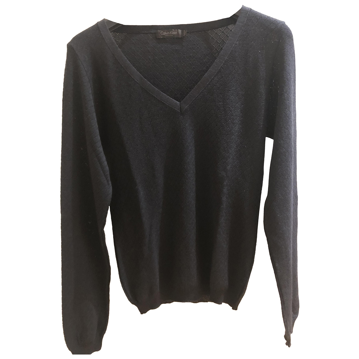 Calvin Klein Collection \N Pullover in  Blau Wolle