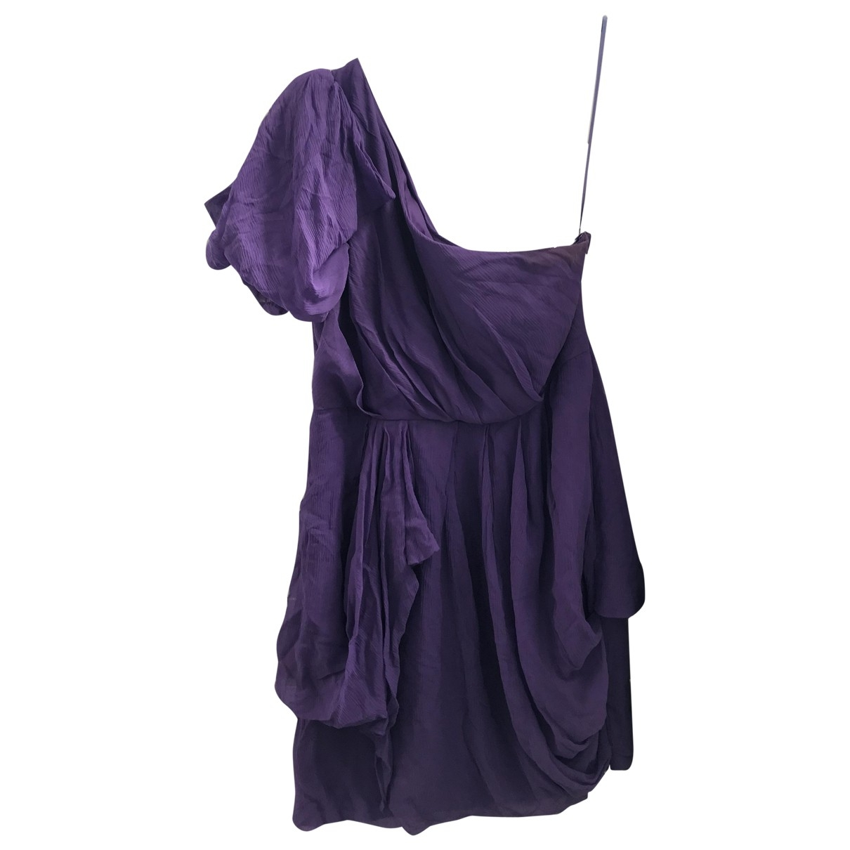 Tibi \N Kleid in  Lila Seide