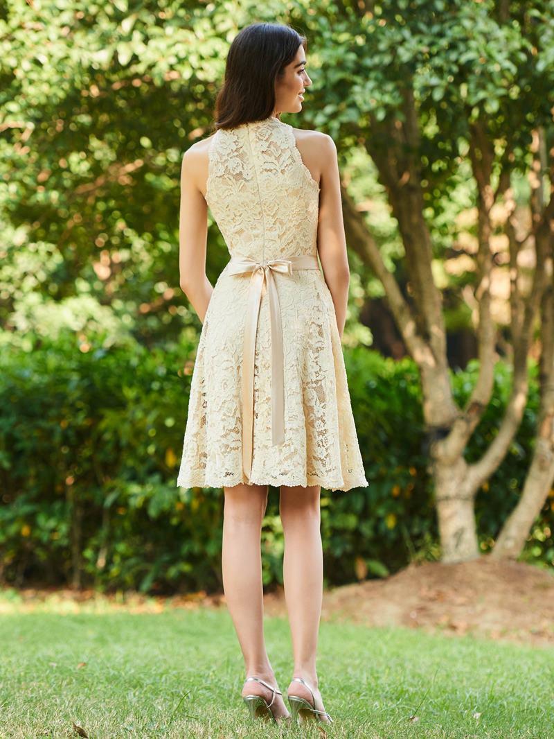 Ericdress A Line Knee Length Lace Bridesmaid Dress