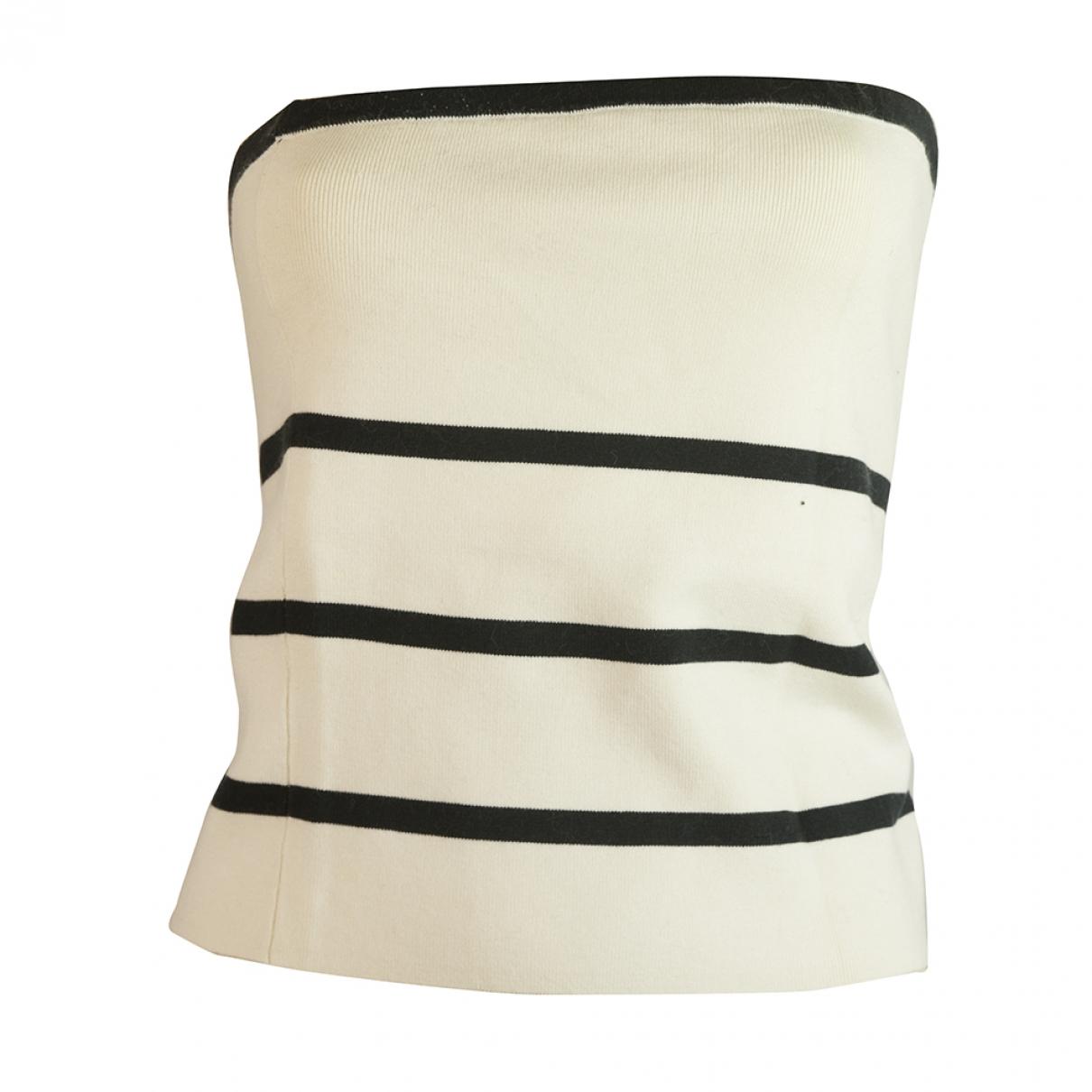 Ralph Lauren \N Ecru Silk  top for Women XL International