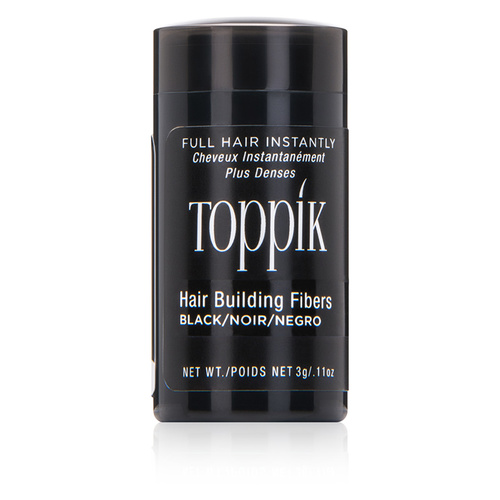 Hair Building Fibers - Black - 0.11oz(Black)