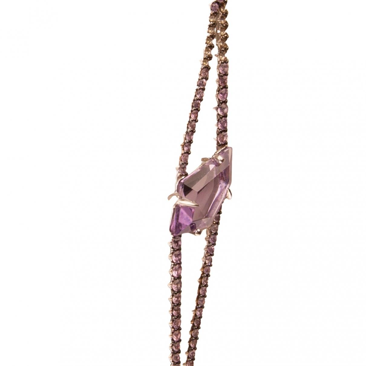 Alexis Bittar \N Halskette in  Metallic Silber