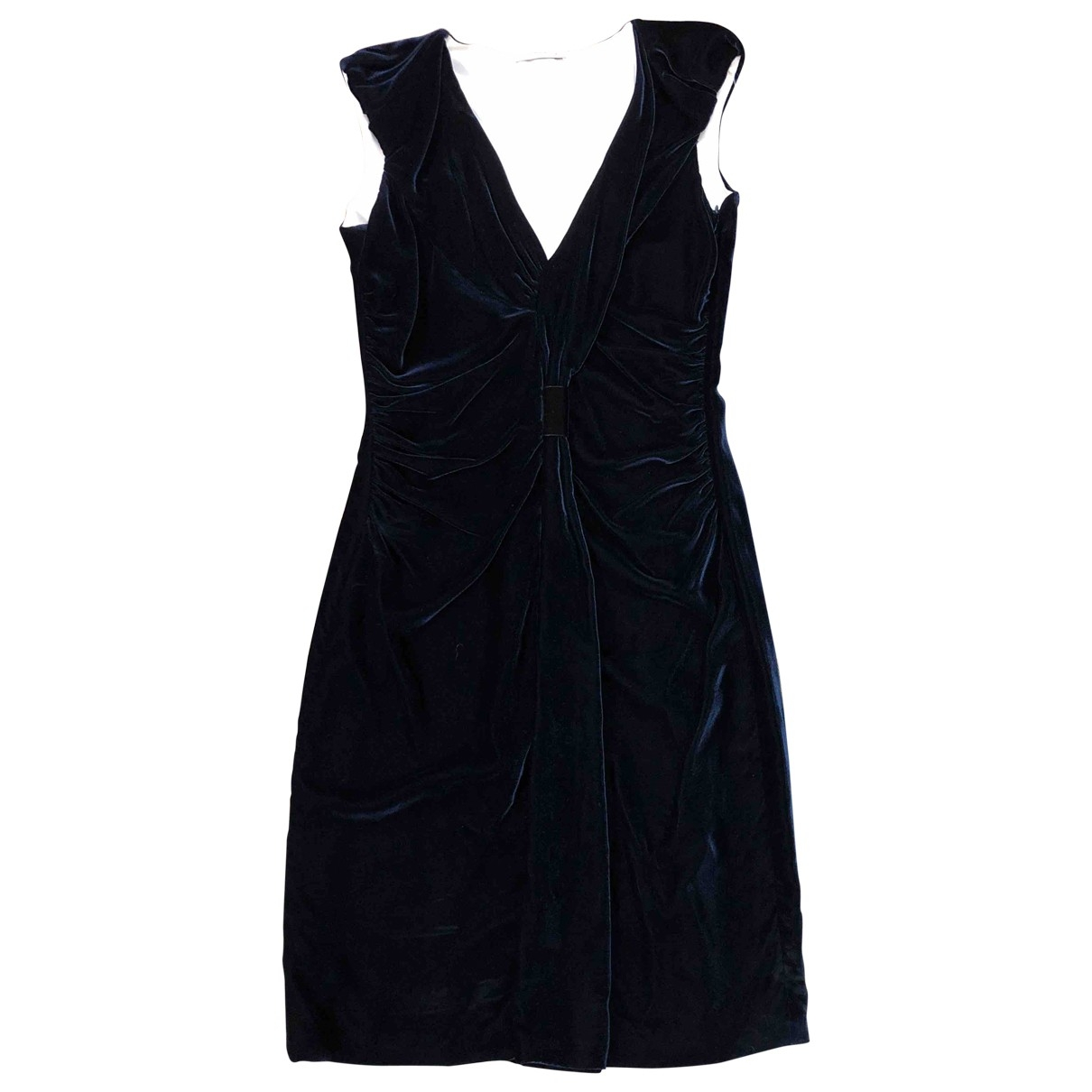 Prada \N Blue Velvet dress for Women 38 FR