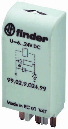 Finder , 60V dc Interface Relay Module, Plug In