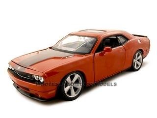 2008 Dodge Challenger SRT8 Orange 1/24 Diecast Model Car by Maisto