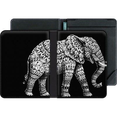 tolino vision 3 HD eBook Reader Huelle - Ornate Elephant 3.0 von BIOWORKZ