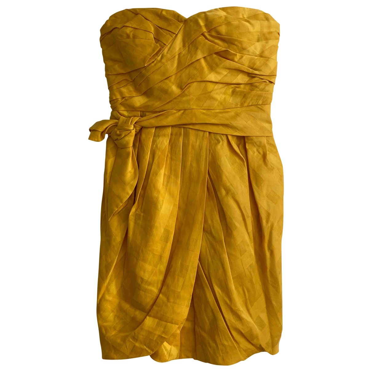 Marc By Marc Jacobs \N Yellow Cotton dress for Women 6 US