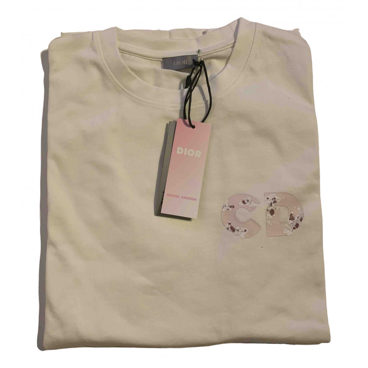Dior Homme \N White Cotton T-shirts for Men M International