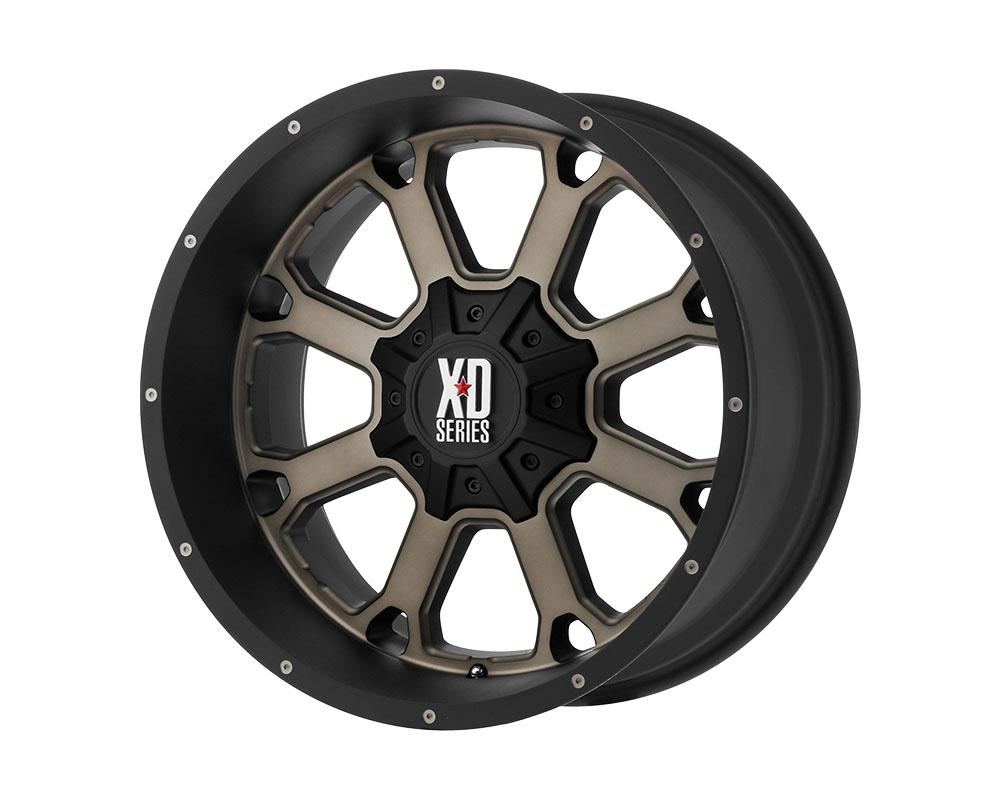 XD Series XD82520487776N XD825 Buck 25 Wheel 20x14 8x8x170 -76mm Matte Black Dark Tint