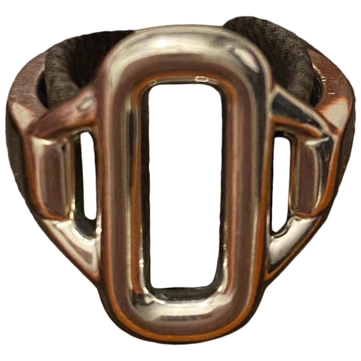Hermes \N Ring in  Silber Silber