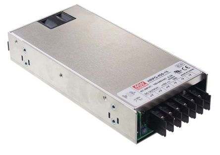 Mean Well , 450W Embedded Switch Mode Power Supply SMPS, 12V dc, Enclosed